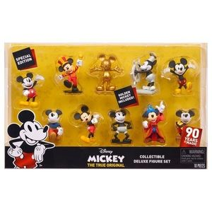Disney Mickey Mouse Deluxe Figure Set